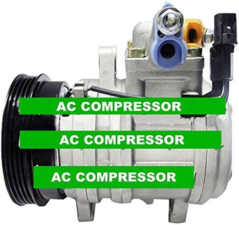 New A//C Compressor  HS-11 97701-07100 For Hyundai i10 1.0 Kia Picanto 1.0//1.1