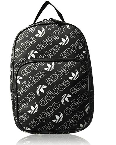 (adidas Originals Santiago Lunch Bag, Black, One Size)