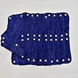 Sweatband For Hard Hat Reusable Terry cotton Hard Hat Liner snap on(9 Pcs)