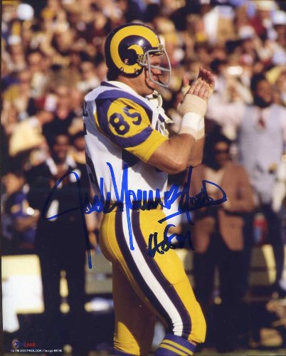 Jack Youngblood (HOF) Autographed  Original Signed 8x10 Color Photo ... f5f4c8433