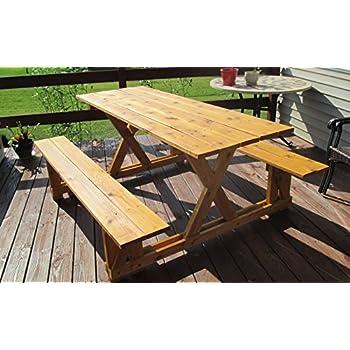infinite cedar ezaccess cedar picnic table