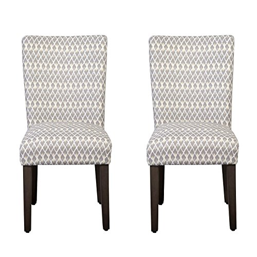 Cheap HomePop Parsons Classic Dining Chair, Set of 2, Gray