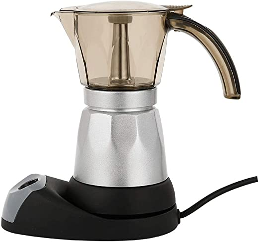 Qilo Cafetera Espresso Moka de acrílico for café - Cafetera ...