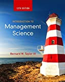 img - for Introduction to Management Science (12th Edition) by Bernard W. Taylor III (2015-01-03) book / textbook / text book