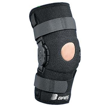 ee9d959c27 Amazon.com: Breg Shortrunner Airmesh Wraparound Hinged Knee Brace ...