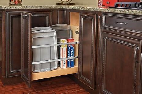 Base Cabinet Pullout Tray Divider/Foil Holder With Blumotion Soft Close  Sink U0026 Base