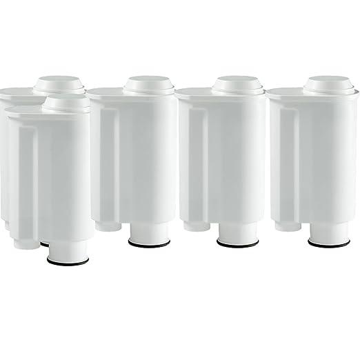 Universitea of Tea 5 Cartuchos de Filtro de Agua para cafeteras automáticas Saeco Phillips Intenza, Lavazza Gaggia, Espresso A Modo Mio GMMH, como ...