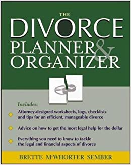 The divorce organizer planner brette sember 9780071429610 the divorce organizer planner brette sember 9780071429610 amazon books solutioingenieria Image collections