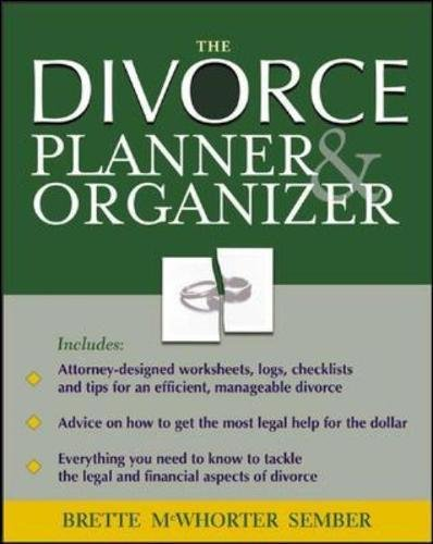 Divorce Organizer Planner CD ROM Reference product image