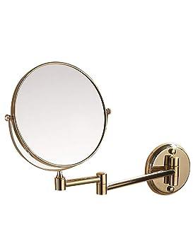 Espejos de aumento de pared Espejo de baño Espejo Plegable ...
