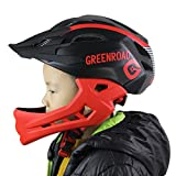 KIDS Bike Helmet – Adjustable from Toddler to Youth Size, Ages 3-7 - Durable Kid Bicycle Helmets with Fun Aquatic Design Boys and Girls will LOVE Certified for Saety and Comfort - FunW(black/red)