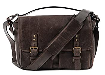 Ona - The Prince Street - Camera Messenger Bag - Dark Truffle Leather (Ona5-024ldb) 0