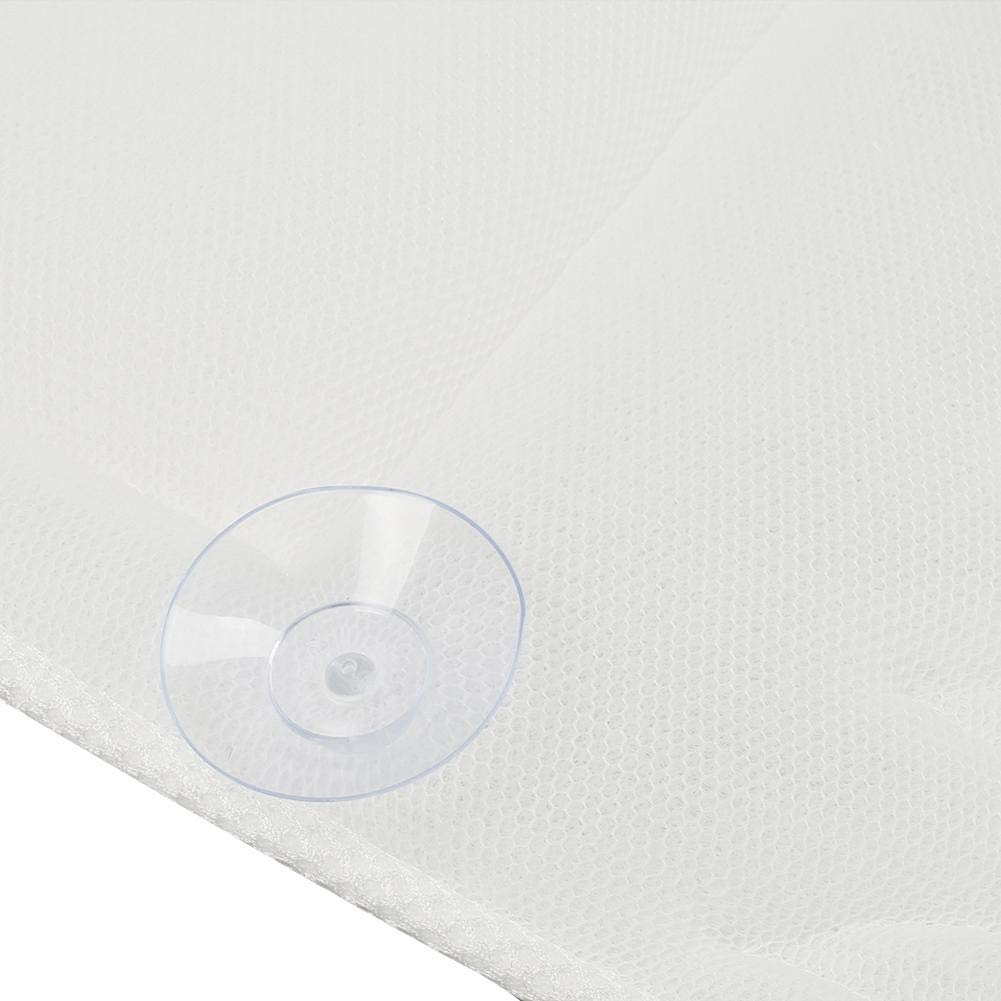 G Coj/ín de ba/ño para ba/ñera Almohada de ba/ñera de cuerpo completo extragrande y alfombrilla antideslizante para ba/ñera de hidromasaje Colchoneta con capas de malla 3D s/úper gruesas y transpirables