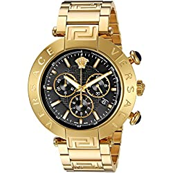 Versace Men's 'REVE CHRONO' Swiss Quartz Stainless Steel Casual Watch (Model: VQZ090015)