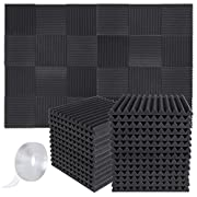 #LightningDeal Focusound Acoustic Foam Panels Soundproof Studio Foam