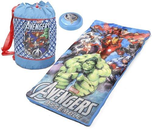 Marvel Avengers Slumber Set with Bonus Push Light