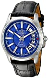 Lucien Piccard Men's LP-40025-03 Del Campo Analog Display Quartz Black Watch