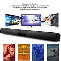 FidgetFidget Wireless Subwoofer Bluetooth Soundbar Speaker TV Home Theater SoundbarRCA Cable