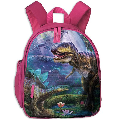 Jurassic Dinosaurs T-Rex Child Cool School Backpack For - T-rex Products Leash