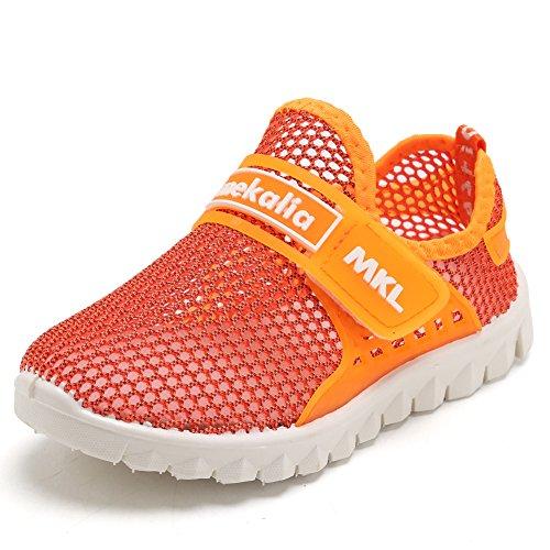 CIOR Boys Girls Breathable Lightweight Sneakers Antislip Shoes For Running Walking Toddler/Little Kid/Big Kid SC276 Blue 30 XeBUUyGVb
