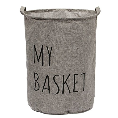 KINGSO Foldable Laundry Basket Storage