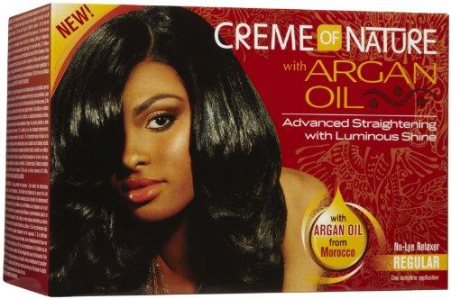 Creme of Nature Argan Oil Advanced Straightening (Regular)