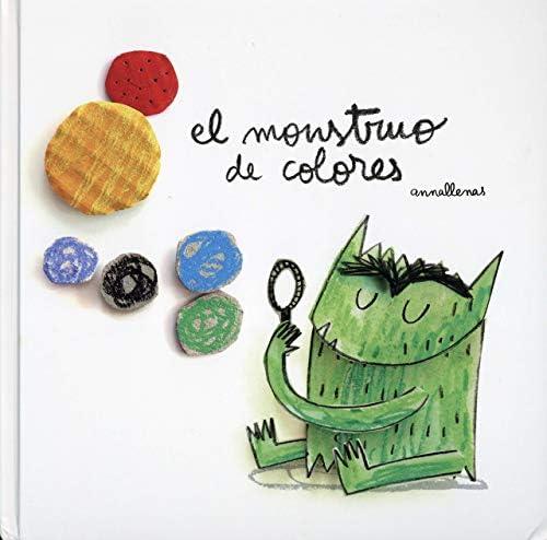 El Monstruo De Colores Spanish Edition 9788494504235 Llenas Serra Anna Llenas Serra Anna Books