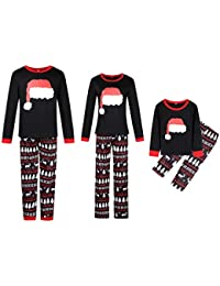78f67d1f5b Family Christmas Pajamas Set - 2 Piece Pjs Sets Cotton Sleepwears for  Mom