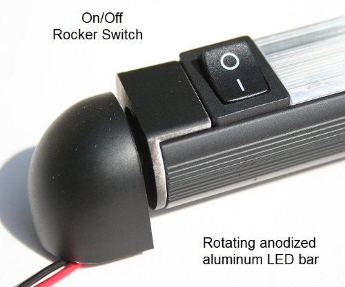 Led Bar Light Pivoting Water Proof 18 Quot Lamp 12 Volt