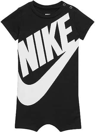 Amazon.com: Nike Baby Boy Infant Shortall (Obsidian(5ND369 ...