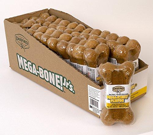 Darford Mega Bone Junior P 'Nut Butter Flavor Dog Treat, 3-1 2-Ounce