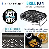 Air Fryer Grill Pan Accessory Compatible with