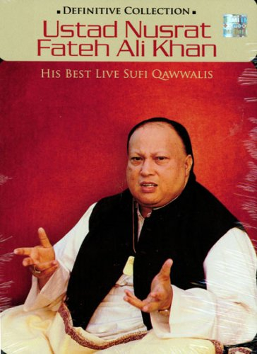 Ustad Nusrat Fateh Ali Khan - His Best Live Sufi Qawwalis (4 CD Definitive Collection)