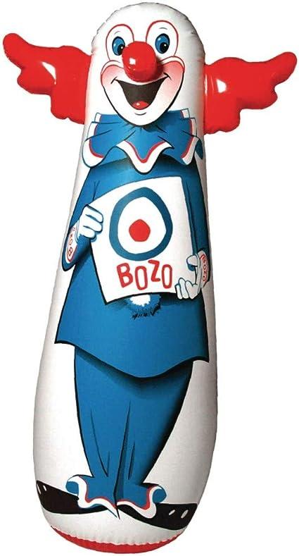 Amazon Com The Original 46 Bozo 3 D Bop Bag Toys Games