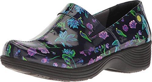 Work Wonders by Dansko Women's Coral Slip-On,Botanical Patent,EU 36 M