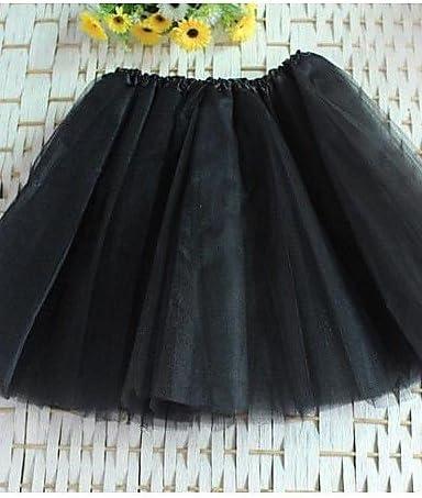 GDS Mujer Faldas Tiro Alto Mini Poliéster / Nailon Eslático Verano ...