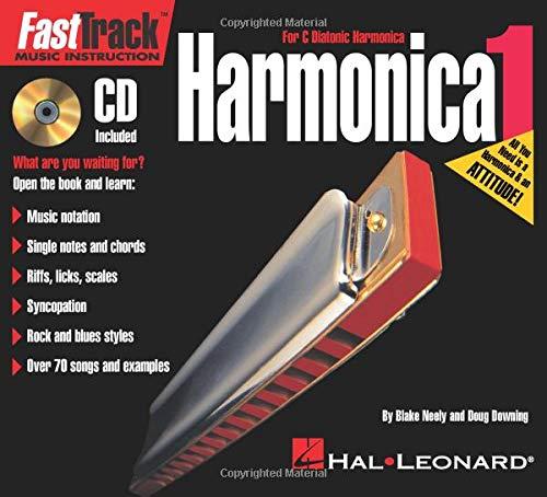 FastTrack Mini Harmonica Pack Book//CD//Harmonica Pack