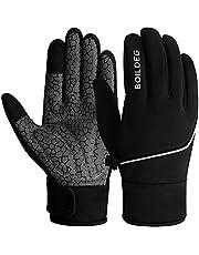 BOILDEG Fietshandschoenen Outdoor Winddicht Touchscreen Anti-slip Schokabsorberende Pad Fietshandschoenen voor Mannen & Vrouwen