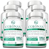 Colonax - Natural Colon Cleanse and Detox Support- Supports Colon Health and Weight Loss; 6 Months Supply …