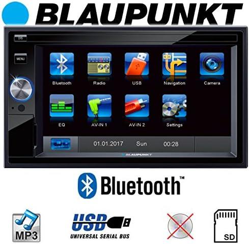 BLAUPUNKT Milano 170 BT 3BG VW Passat 3B USB Autoradio Radio CD MP3 SD Einbauset Bluetooth