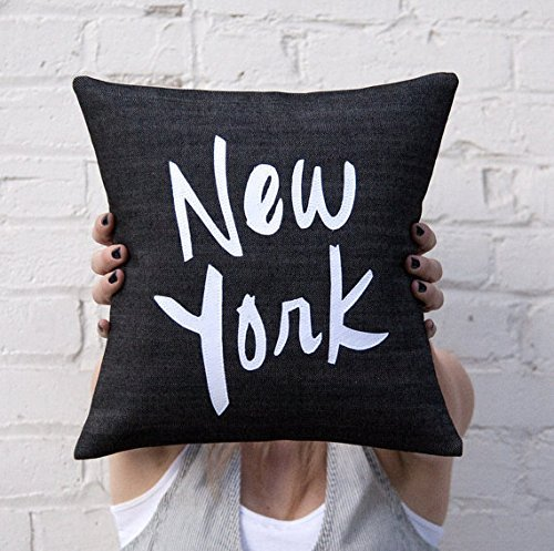 New York Pillow Cover, Black and White, Home Decor, Gift for Friend, New York City, America, - Gift Vouchers Tiffany