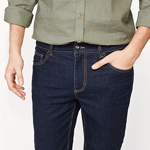 La Collections Straight Dark Jeans Uomo Taglio Redoute Blue qwOrqaZ7