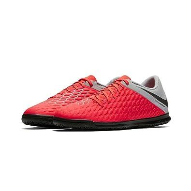 online retailer 1921b 66aa1 Nike Unisex-Kinder Jr Hypervenom 3 Club Ic Futsalschuhe Mehrfarbig (Lt  Crimson/MTLC