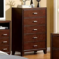 247SHOPATHOME Idf-7068C Drawers, chest, Cherry