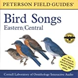 img - for A Field Guide to Bird Songs: Eastern and Central North America (Peterson Field Guides) by Cornell Laboratory of Ornithology (2002-04-01) book / textbook / text book