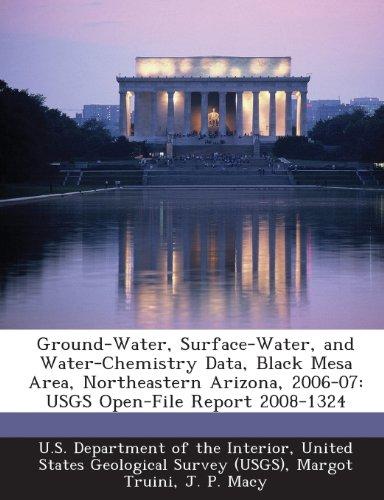 Ground-Water, Surface-Water, and Water-Chemistry Data, Black Mesa Area, Northeastern Arizona, 2006-07: USGS Open-File Report - Macys Mesa