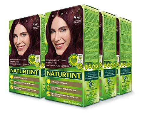 Naturtint Permanent Hair Color - 4M Mahogany Chestnut, 5.6 Fluid Ounce (Pack of 6) by Naturtint (Image #4)
