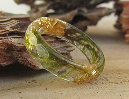 resin plant jewelry - 9