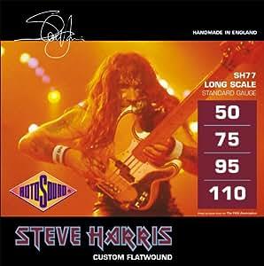 RotoSound SH77 Steve Harris - Cuerdas para bajo electrónico (50-110)