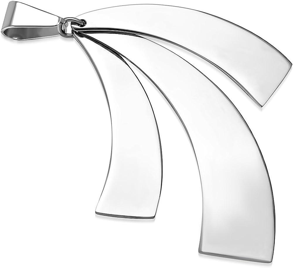 klappbar ZP0223 ZENSE Herren-Anh/änger aus Stahl mit DREI geometrischen Klingen